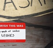 I wish this was: a sack of useless wishes by Erin Nelson