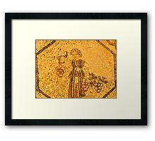 grape picker Framed Print
