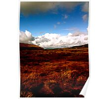 Landscape on Wicklow Mountains Poster