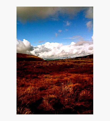 Landscape on Wicklow Mountains Photographic Print