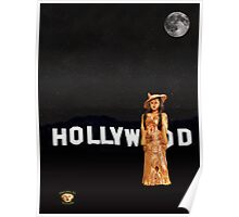 Hollywood Fashion Poster