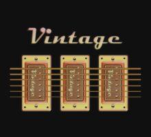 Vintage pickups  One Piece - Short Sleeve