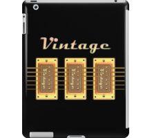 Vintage pickups  iPad Case/Skin