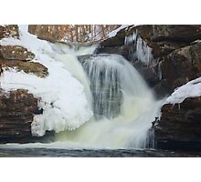 Murray Reynolds Breaks Through Winter Photographic Print