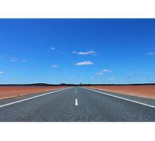 Open Road Photographic Print