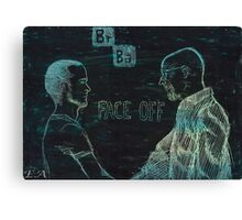 Face Off - Breaking Bad Canvas Print