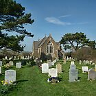 St Peters Church, Eype, Dorset Uk by lynn carter
