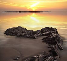 Black Rocks Sunset by Polly x