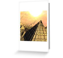 The House of Ra Greeting Card