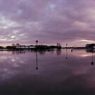 Flooded Parking Place, Wijk bij Duurstede  by Nederland Panorama