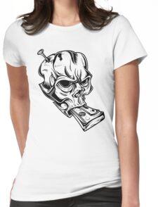Teskull Womens Fitted T-Shirt