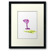 sweet cocktail Framed Print