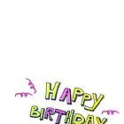 happy birthday 3 by neatfoto