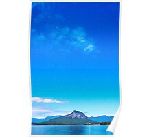 Stars over Lake Moogerah Poster