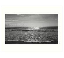 Serenity, Newborough beach. Art Print