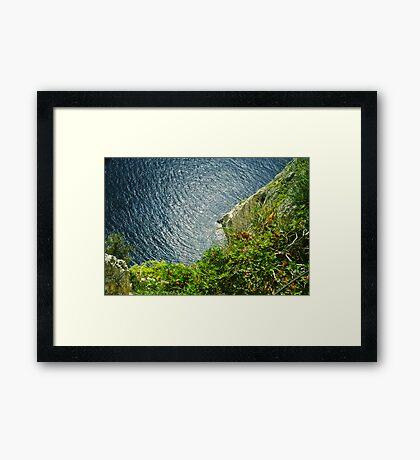 Cape Keri . Zakynthos . Greece. Hurts - Wonderful    Life  .Fujichrome Velvia 50 Slide Film by Brown Sugar .  . Favorites: 2 Views: 583 .Thank you !!!! Framed Print