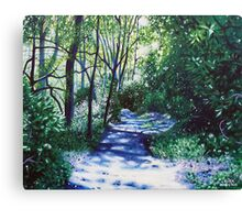 'There Be Light Around the Bend' Canvas Print