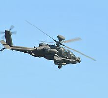 AH-64 Apache Helicopter by Eleu Tabares
