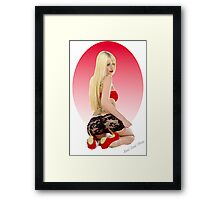 Cherry Pie Framed Print