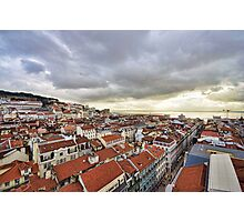 Lisbon... from the rooftops Photographic Print