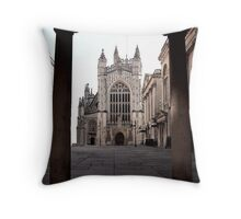 Arches Of History In Bath, England Throw Pillow