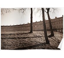 The Royal Crescent, Bath, England Poster