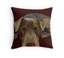Gromit does Comic Relief Throw Pillow