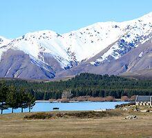 Church of Good Shepherd, Lake Tekapo, New Zealand by Justine Chesterman