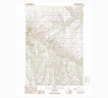 USGS Topo Map Oregon Brady Creek 279116 1990 24000 Kids Tee