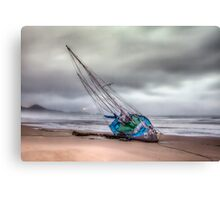 """""""Defeated"""" Canvas Print"""
