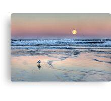 """""""Moonset"""" Canvas Print"""
