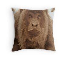 Howler Monkey - Bolivia Throw Pillow