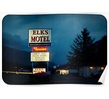 Elks Motel Poster
