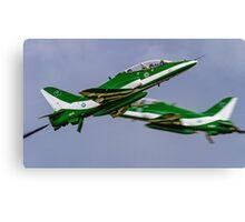 Saudi Hawks en Passant Canvas Print