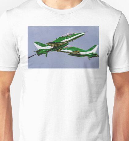 Saudi Hawks en Passant Unisex T-Shirt