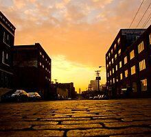 Minneapolis North Loop Cobblestone Street by Mark Jackson