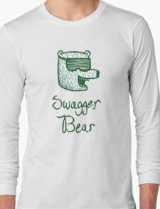 Swagger Bear t-shirt Long Sleeve T-Shirt