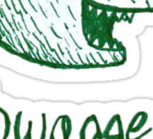 Swagger Bear t-shirt Sticker