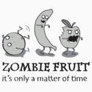 Fruit zombies (white tee) by Ryan Cambey
