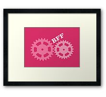 BFF Mechanism (pink) Framed Print