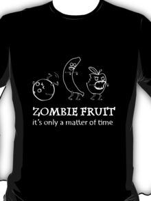 Fruit zombies (black tee) T-Shirt