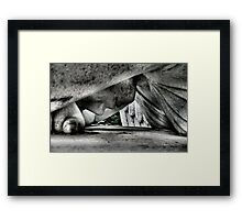 Set In Stone Framed Print