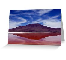 The Red Lake Greeting Card