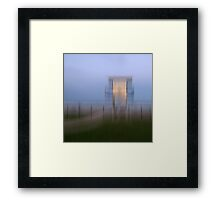 Surf Watch Tower, Rainbow Beach, Bonny Hills, NSW, Australia Framed Print