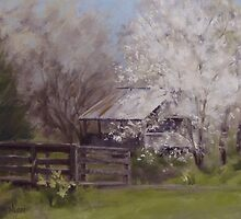 Old Farm Spring by Karen Ilari