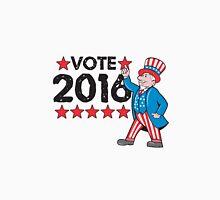 Vote 2016 Uncle Sam Hand Pointing Up Retro Unisex T-Shirt