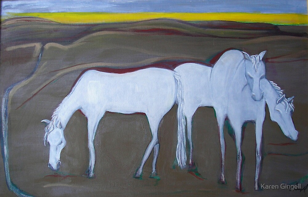 After the Gold Rush - Ghosts by Karen Gingell