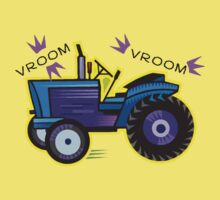 Tractor Time VROOM VROOM. Baby Tee