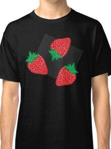 Bold Strawberries Pattern Classic T-Shirt