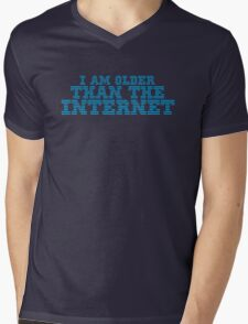 I AM OLDER THAN THE INTERNET Mens V-Neck T-Shirt